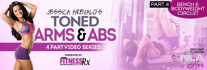 Toned Arms & Abs Video 4
