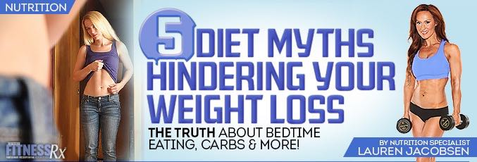 5 Diet Myths Hindering Your Weight Loss