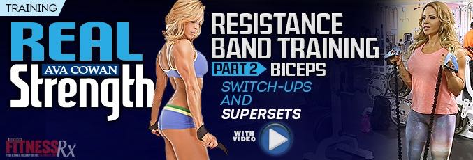Resistance Band Training Part 2 – Biceps