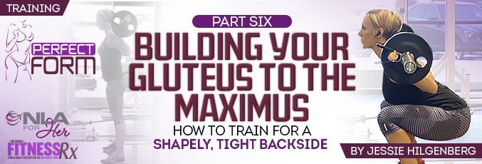 Building Your Gluteus to the Maximus!