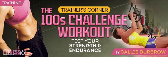 The 100s Challenge Workout