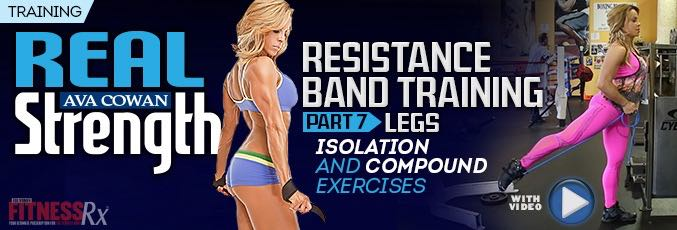 Resistance Band Training 7 – Legs