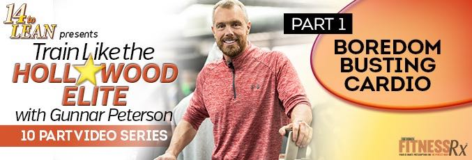 Train Like The Hollywood Elite W/ Gunnar Peterson – Video 1