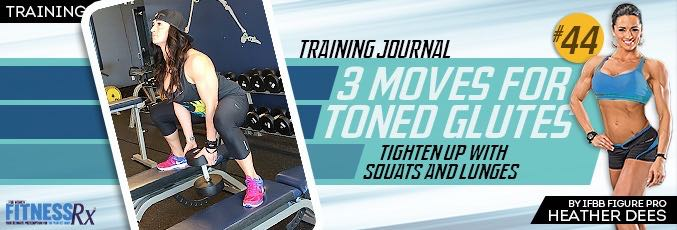 3 Moves for Toned Glutes