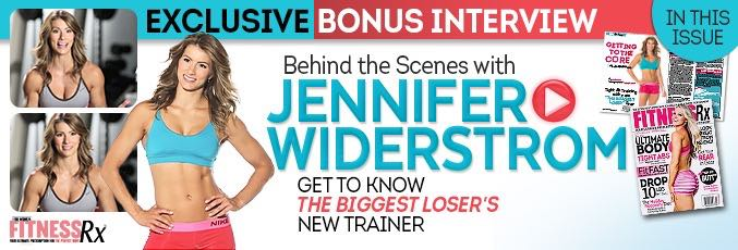 Jennifer Widerstrom: Behind The Scenes