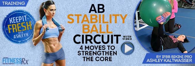 Ab Stability Ball Circuit