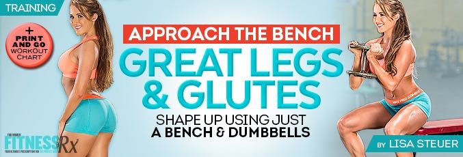 Approach The Bench For Great Legs & Glutes