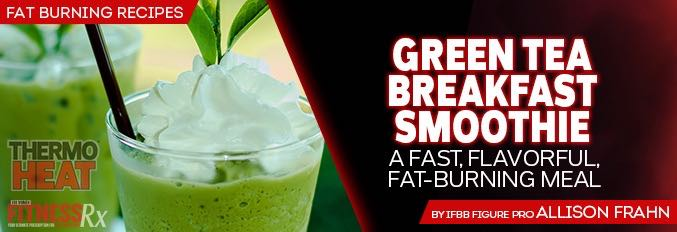 Green Tea Breakfast Smoothie