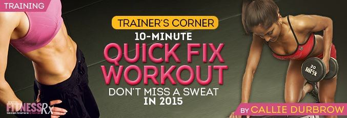 10-Minute Quick Fix Workout
