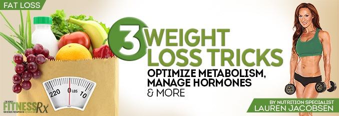 3 Weight Loss Tricks