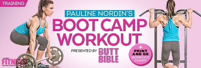 Pauline Nordin's Bootcamp Workout