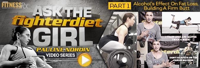 Ask The Fighter Diet Girl Pauline Nordin – Video 1