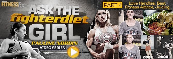 Ask The Fighter Diet Girl Pauline Nordin – Video 4