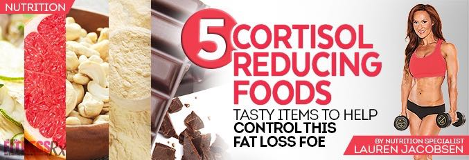 5 Cortisol Reducing Foods