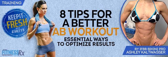 8 Tips for a Better Ab Workout