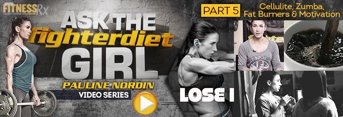 Ask The Fighter Diet Girl Pauline Nordin – Video 5