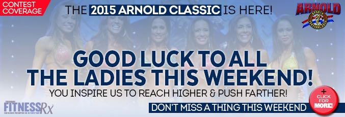 The 2015 Arnold Sports Festival Weekend Is HERE