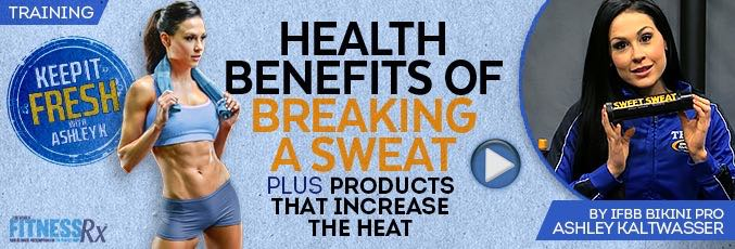 Health Benefits of Breaking a Sweat