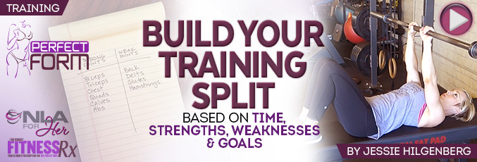Building Your Training Split