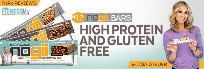 FitRx Reviews: NoGii Bars
