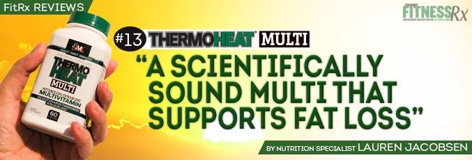 FitRx Reviews:  AML's Thermo Heat Multi