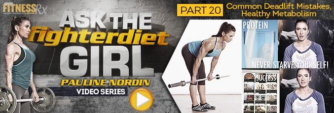 Ask The Fighter Diet Girl Paulin Nordin – Video 20