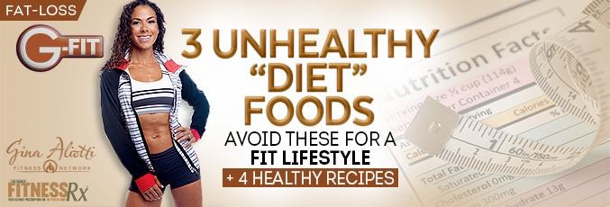 "3 Unhealthy ""Diet"" Foods"