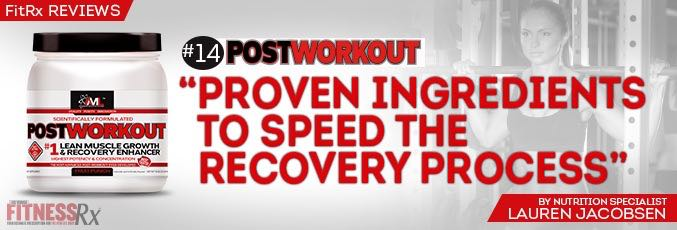 FitRx Reviews: AML's POSTWORKOUT
