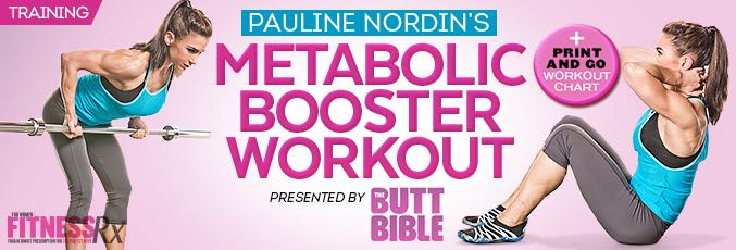 Pauline Nordin's Metabolic Booster Workout