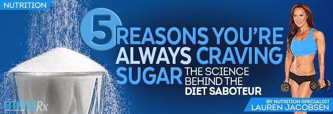 5 Reasons You're Always Craving Sugar
