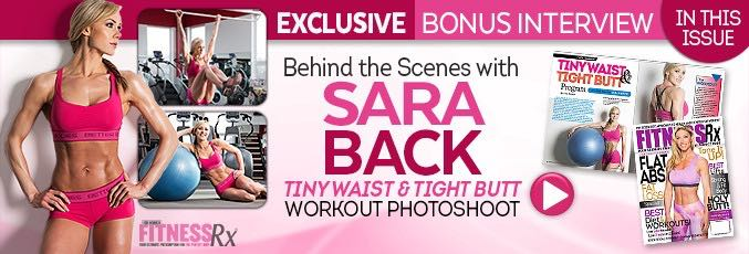 Sara Back: Behind The Scenes