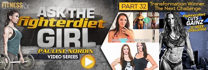 Ask The Fighter Diet Girl Pauline Nordin – Video 32