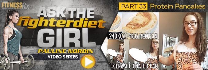 Ask The Fighter Diet Girl Pauline Nordin – Video 33