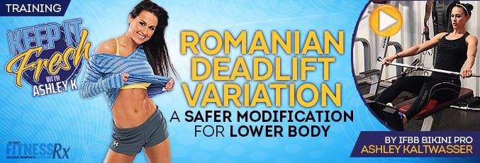 Romanian Deadlift Variation