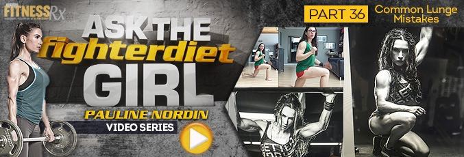 Ask The Fighter Diet Girl Pauline Nordin – Video 36