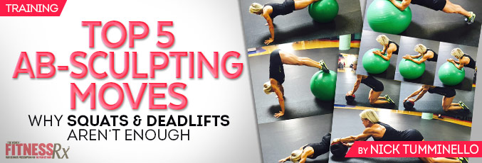 Top 5 Ab-sculpting Moves