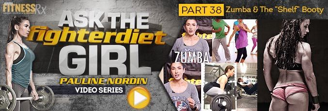 Ask The Fighter Diet Girl Pauline Nordin – Video 38