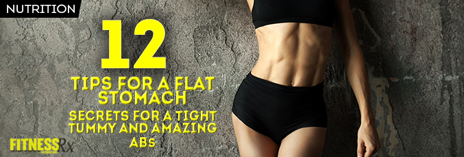 12 Tips for a Flat Stomach