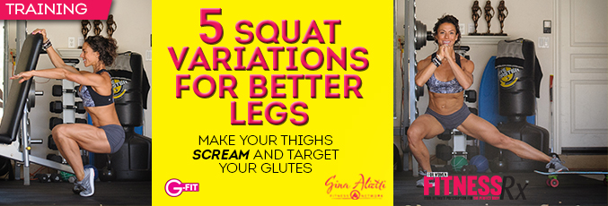 5 Squat Variations for Better Legs