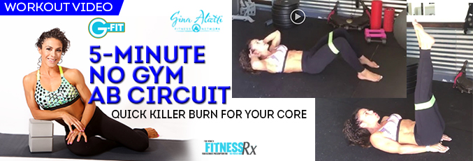 5-Minute No Gym Ab Circuit