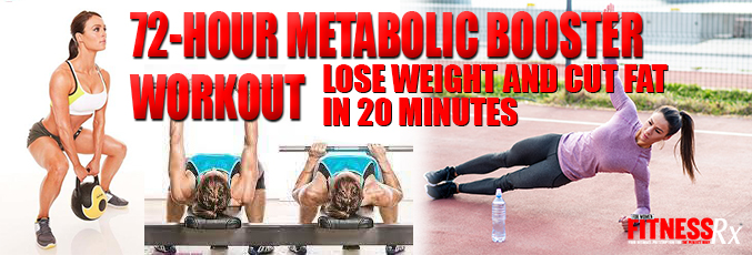 72-Hour Metabolic Booster Workout