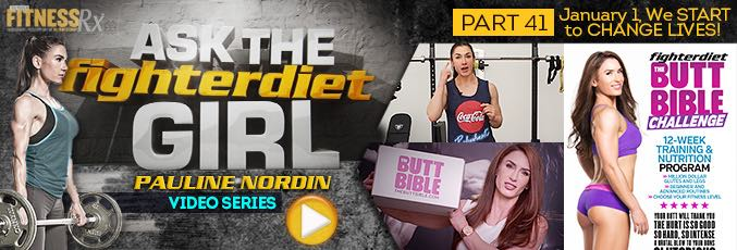 Ask The Fighter Diet Girl Pauline Nordin – Video 41