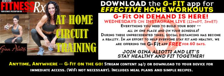 G-FIT APP Promo