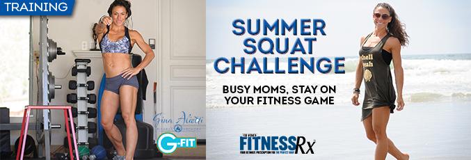 Gina-Summer Squat Challenge