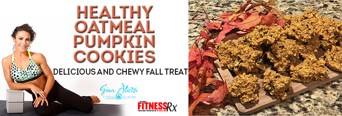Healthy Oatmeal Pumpkin Cookies