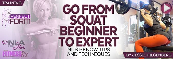 Go From Squat Beginner to Expert