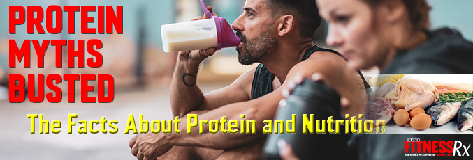 Protein Myths Busted