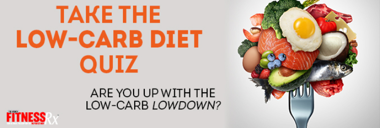 Take the Low carb diet quiz