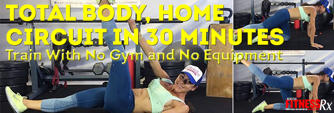 Total Body, Home Circuit in 30 Minutes