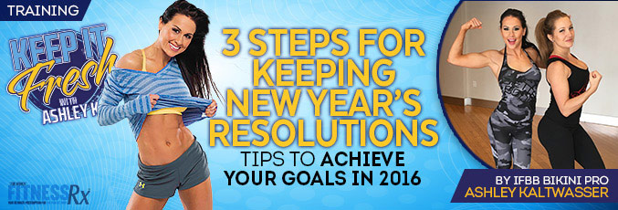 3 Steps for Keeping New Year's Resolutions